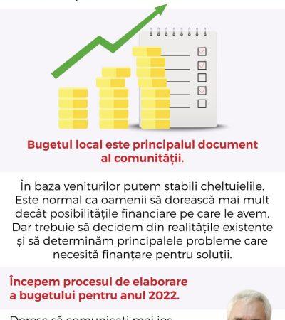 Elaborarea bugetului local împreună cu cetățenii